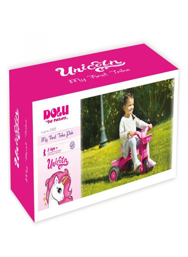 Dolu Dolu Unicorn İlk Bisikletim 2505 Renkli